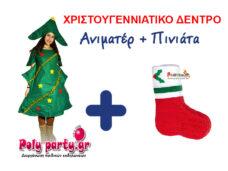 ΧΡΙΣΤΟΥΓΕΝΝΙΑΤΙΚΟ ΔΕΝΤΡΟ + ΠΙΝΙΑΤΑ