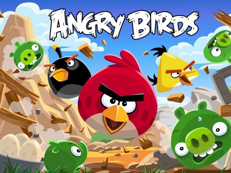 Πινιάτες Angry Birds