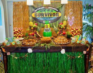 Survivor party διακόσμηση