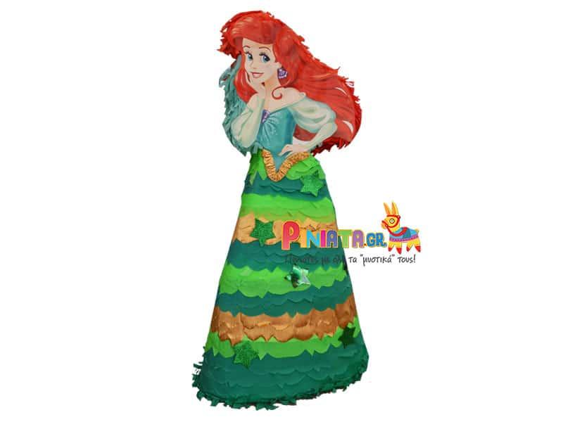 Πινιάτα Ariel η μικρή γοργόνα