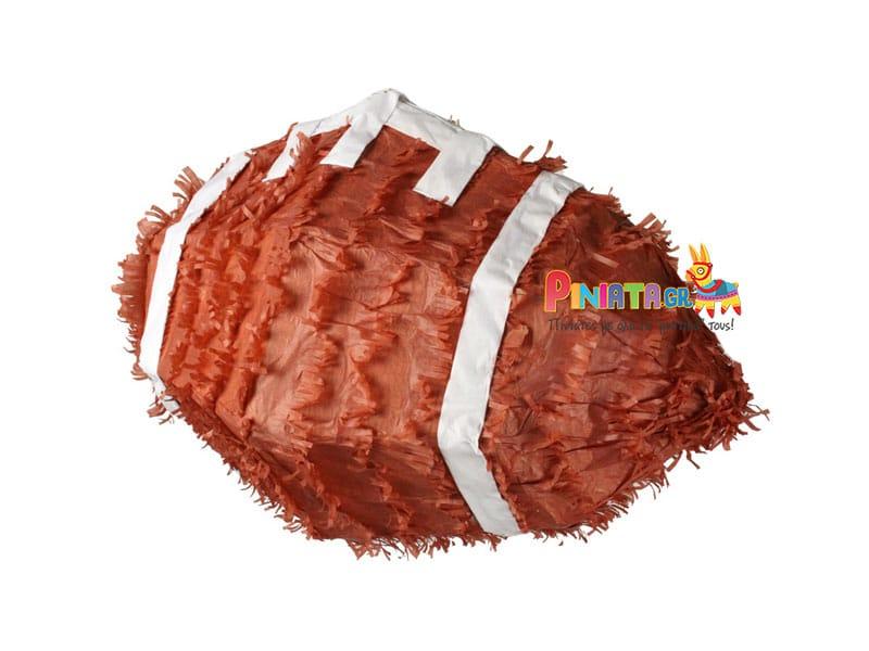 χειροποιητη πινιατα μπαλα rugby football