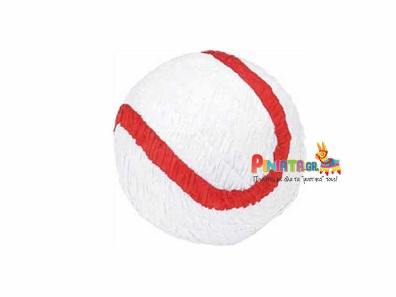 χειροποιητη πινιατα μπαλα baseball