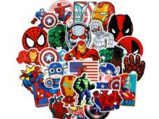 αυτοκολλητα παιδικα avengers