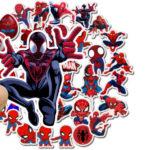 αυτοκολλητα παιδικα spiderman