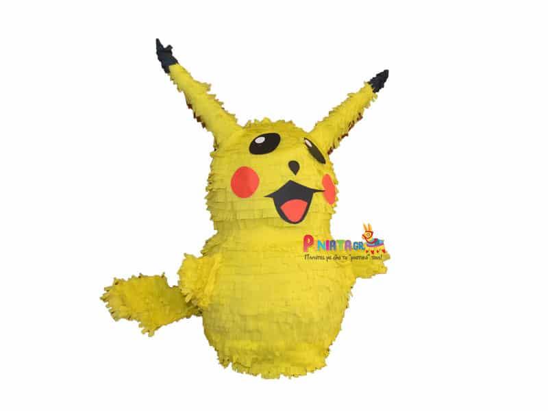 χειροποιητη πινιατα ολοσωμος pikachu
