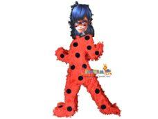 χειροποιητη πινιατα ολοσωμη ladybug