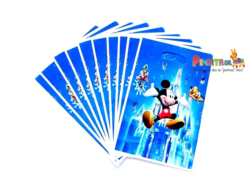 σακουλακια για δωρακια mickey mouse