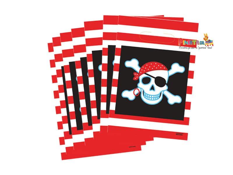 σακουλακια για δωρακια πειρατες