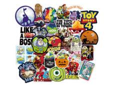 παιδικα αυτοκολλητα ήρωες pixar