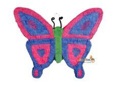 Πινιατα πεταλούδα μπλε